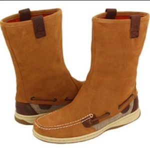 Sperry Top-Sider Sandfish Barely Suede Boots lace